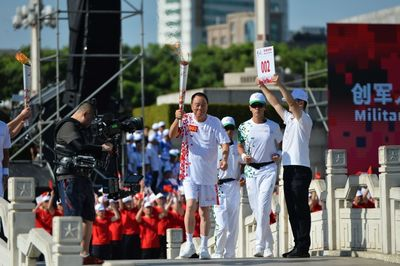 Launching of the Torch Relay and Holy Flame-lighting