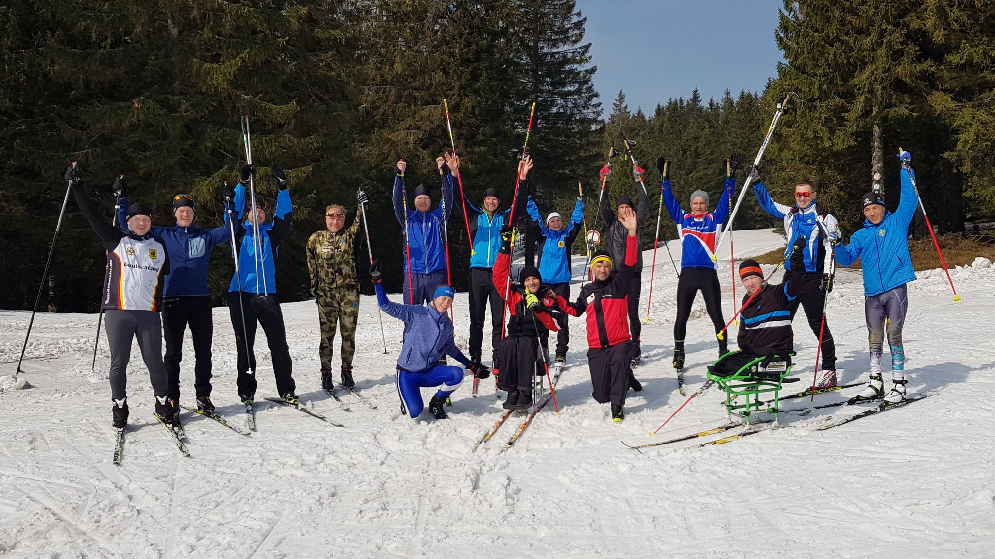 Cross Country Skiing At The 2020 Winter Olympics.Save The Date For The 2nd Cism International Training Camp 2020