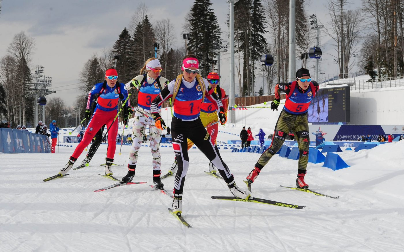 The composition of the Russian national biathlon team for the season 2018 - 2019 73