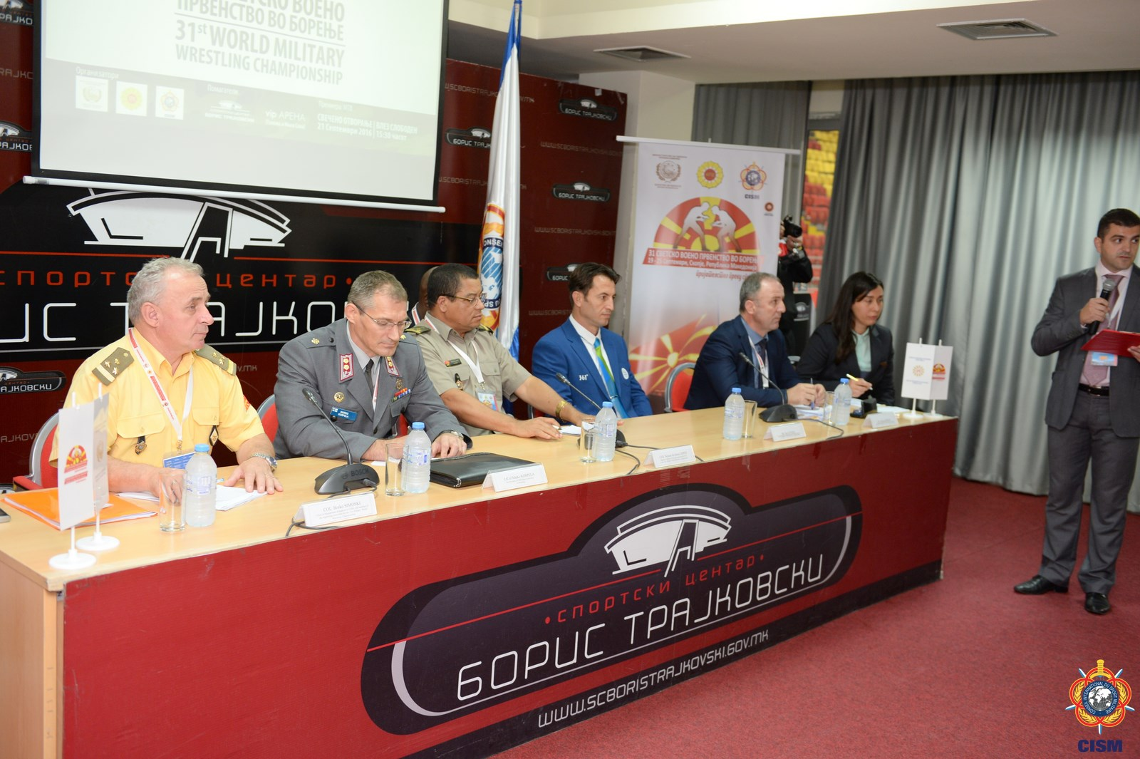 31st WMC Wrestling – Skopje (MKD) – Press Conference